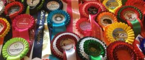 quality rosettes for horse riding, shows, birthday parties